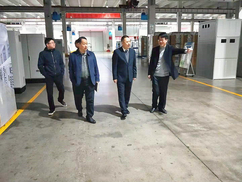 河南省电工行业协会年度走访巡礼——走进副会长单位索凌电气热博rb88